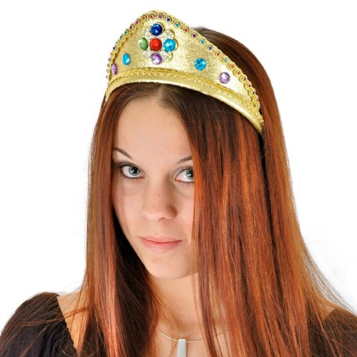 Mardi Gras Around The World Costumes (Elope Queen Headband)