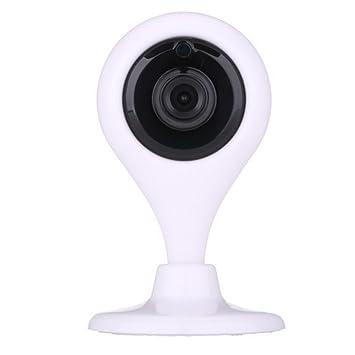 wly&home Cámara Video Vigilancia y Vigila /Visualización panorámica de 360 grados /Detección de movimiento