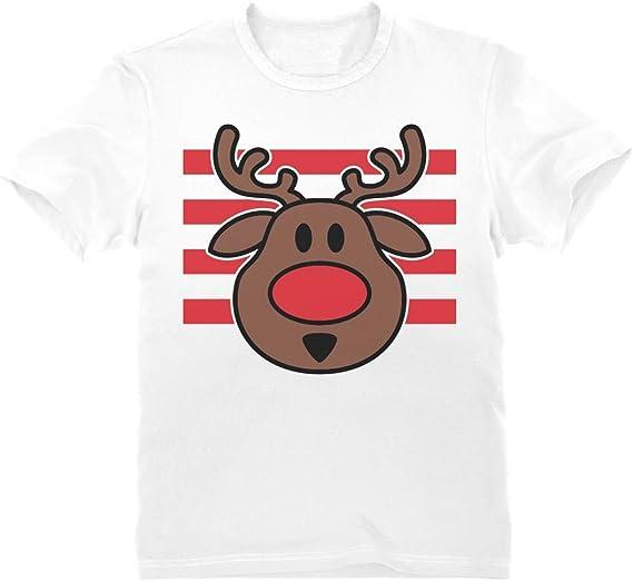 Green Turtle Camiseta para niños - Ciervo de Navidad - Regalo para Niños en Navidad: Amazon.es: Ropa y accesorios