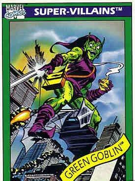 Amazon.com: 1990 Impel Marvel Comics # 74 duende verde ...