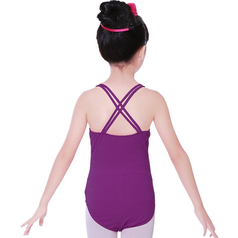Nachvorn Kids Girls Camisole Ballet Leotard Tutu Dance Tank Top