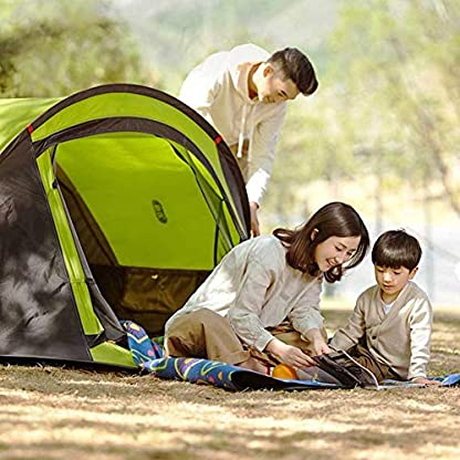 Zenph Pop Up Family Camping Tent, Waterproof Automatic Camping Tent,UV Cut for Camping Hiking Festivals 7