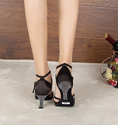 bal Black Salle 7 5cm femme Miyoopark de heel 35 noir 1xqv6Ow