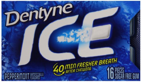 Dentyne Sugar Free Peppermint Piece Pack