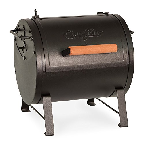- Char-Griller E22424 Table Top Charcoal Grill and Side Fire Box, Black