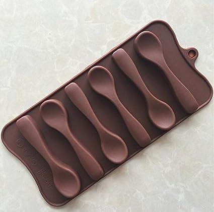 Yter - Molde de silicona para chocolate (chocolate)
