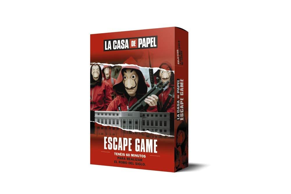 LA CASA DE PAPEL. Escape game LAROUSSE - Libros Ilustrados ...
