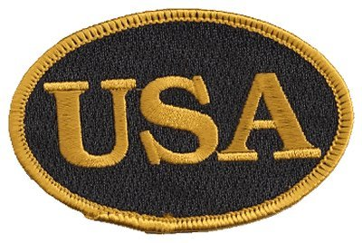 (The Oval USA Flag, PATCH, by: