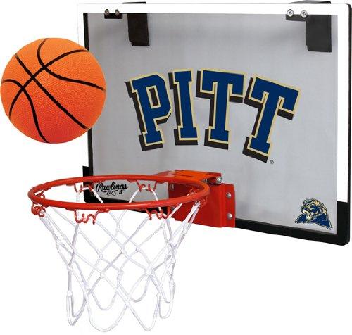 - Jarden Sports Licensing University of Pittsburgh Pitt Panthers Indoor Basketball Hoop Set - Over The Door Game