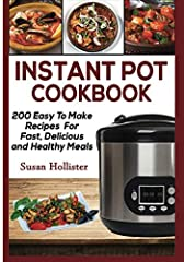 Serve Up Delicious Meals Quickly and Easily!You are going to love cooking again after trying the wide variety of mouthwatering meals in this Instant Pot recipe book. With an Instant Pot pressure cooker, cooking, preparation and cleanup is a b...