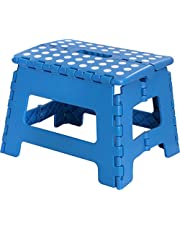 Utopia Home Foldable Step Stool for Kids - 11 Inches Wide and 9 Inches Tall - Holds Up to 300 lbs - Lightweight Plastic Design
