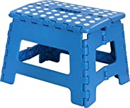 Utopia Home Foldable Step Stool for Kids - 11 Inches Wide and 9 Inches Tall - Holds Up to 300 lbs - Lightweigh
