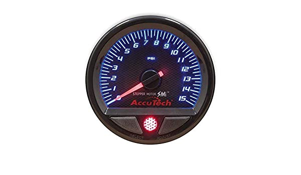 Longacre 46535 Fuel Pressure Gauge with Stepper Motor