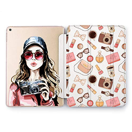 Wonder Wild Selfie Girl Apple iPad Pro Case 9.7 11 inch Mini 1 2 3 4 Air 2 10.5 12.9 2018 2017 Design 5th 6th Gen Clear Smart Hard Cover -