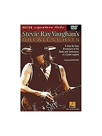 Stevie Ray Vaughan's Greatest Hits: Guitar Signature Licks (DVD). Für Gitarre