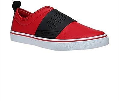 Puma Men's El Rey Fun Idp Barbados Cherry and Black Sneakers - 10 UK/India