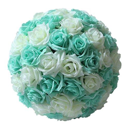 "Rose Flower Ball - TOOGOO8""Tiffany Blue Wedding Decorations"