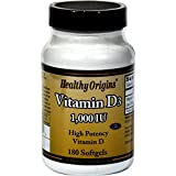 Healthy Origins Vitamin D3 – 1000 IU – 180 softgels Review