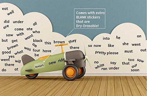 Sight Words Wall Stickers - Kindergarten - Kindergarten Word Wall Shopping Results