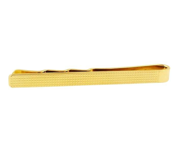 Alfiler de corbata de oro amarillo de 9 quilates (50 x 4 mm ...