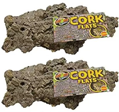 Image of Zoo Med Natural Cork Bark, Flat, Medium (2 Pack)