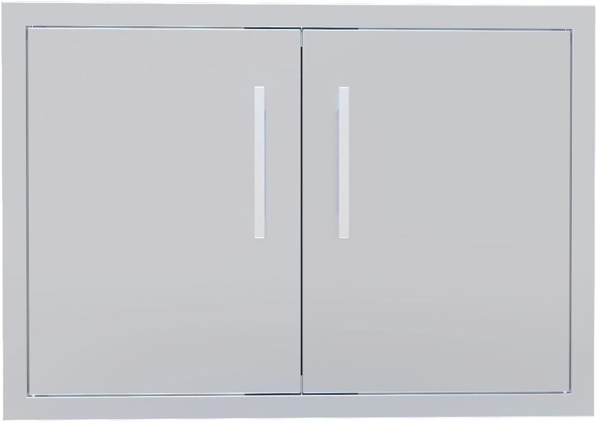 "Sunstone BA-DD30 Beveled Frame Double Access Door, 30"""