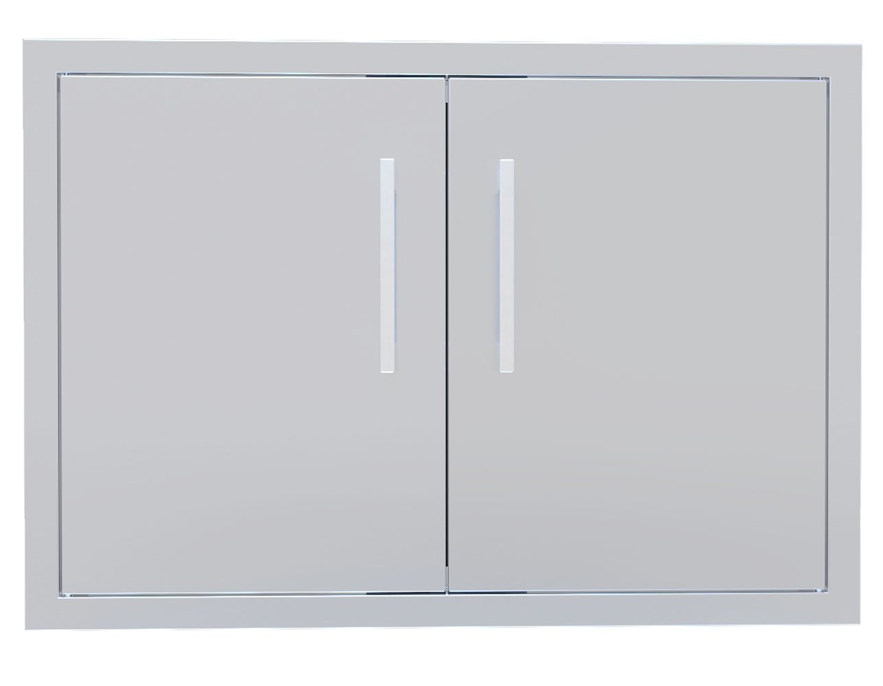 Sunstone BA-DD30 Beveled Frame Double Access Door, 30''