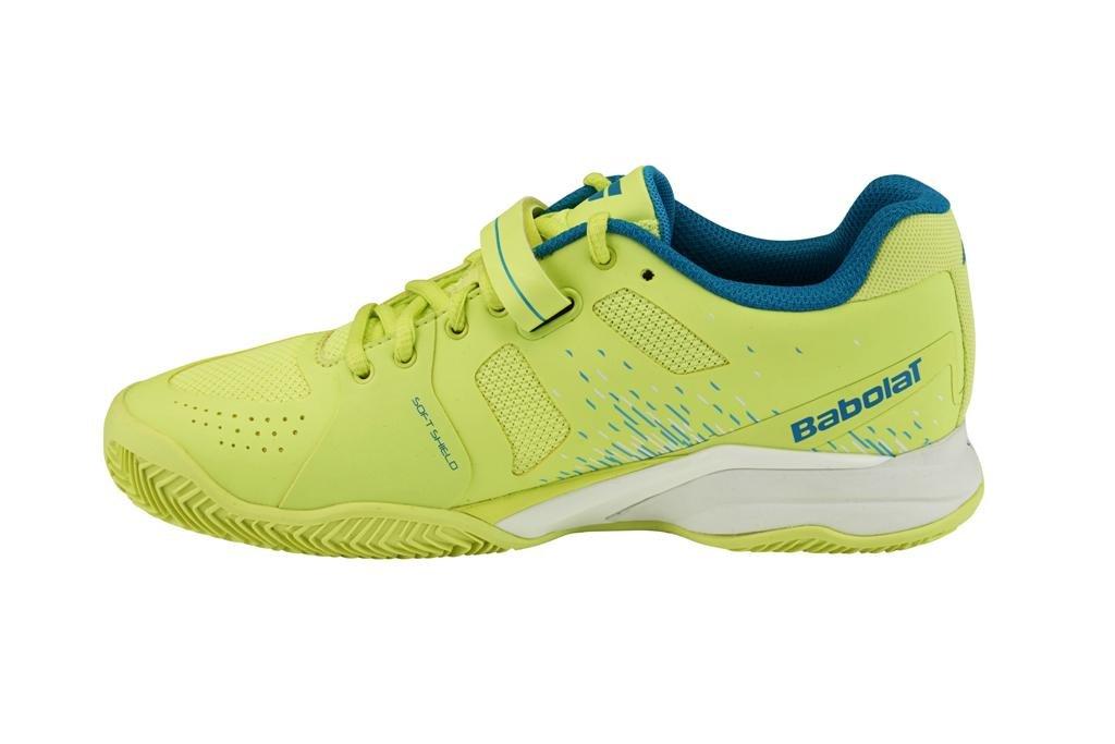 Babolat Damen Tennisschuhe Propulse Gr. Clay gelb-blau Gr. Propulse 36 d1e89d