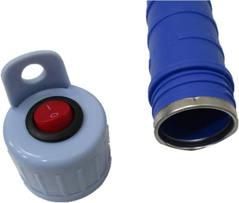 Um Pump Water Alkohol und andere YUCARAC Akku-Pumpe Wasser-Transfer Siphon Pumpe-Siphon to Push for Rasenm/äher /& Manual Benzin
