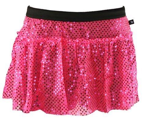 [Pink Sparkle Running Skirt S] (Valentine Sparkle)