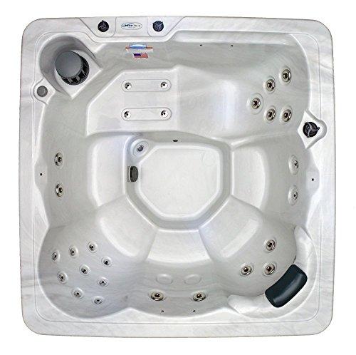 Spa Plug n Play 5-6 Person Hot Tub - LED light &...