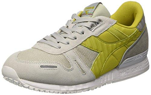 Diadora Unisex Ii Sneaker Multicolore Citronella Titan Grigio C6114 Erwachsene Roccia rCAqr
