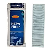 (1) Bissell Bagless Upright Vacuum Cleaner Style 8 / 14 Hepa Pleated Micro Post Motor Exhaust Filter 2036608 3091 Lift-off Multi Cyclonic Pet, Total Floor, Velocity, Pet Hair Eraser, Momentum