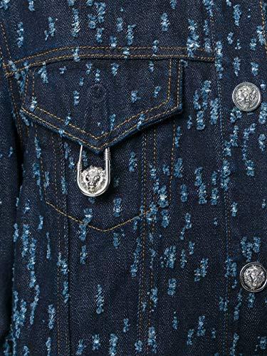 Donna Cotone Giacca Versace Versus Blu Bd70178bt20992b8393 WZavnUO