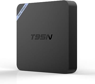 GM Mini M8S T95N TV Box 2GB/8GB Android 6,0 Amlogic S905X Quad Core WiFi BT 4,0 Set Top TV Box: Amazon.es: Electrónica