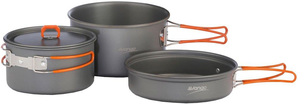 Vango Kit de Cocina Anodizado Aventura Gris