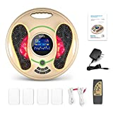 Medical Foot Massager Machine - Feet Legs Circulation Devices Using EMS and TENS Stimulator,...