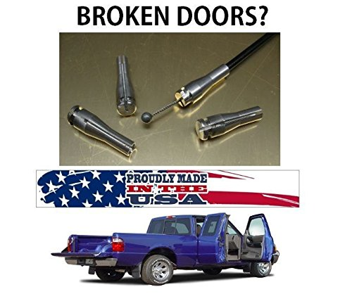 Ford F Series Extended Cab Rear Suicide Door, Door Lock Cable Repair Kit 2004, 2005, 2006 2007,2008 (Kit Extended Cab)
