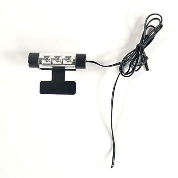 beleuchtung Atmosph/äre Dekorative LED Strip Licht Satz RGB 12V 4 x 9 LEDs mit Sound Aktiv Funktion Universal Einrichtung