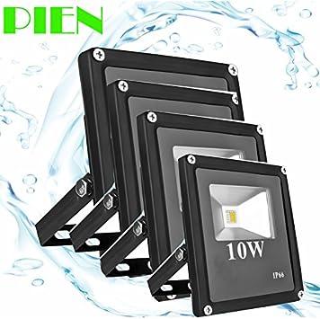 Amazon.com: White, 85V to 265V 10W : 12V LED Flood Light ...