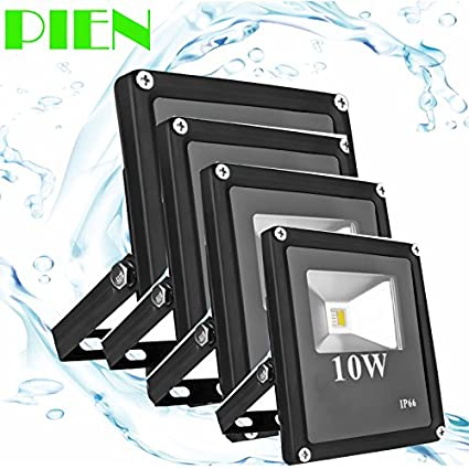 Amazon.com: White, DC 12V 10W : 12V LED Flood Light Outdoor ...