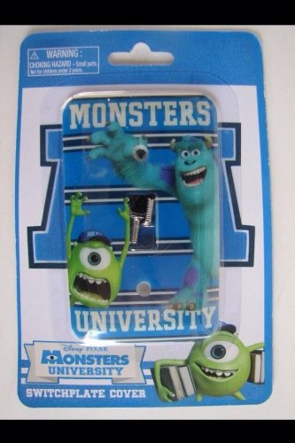 Disney Monsters University Mike/sully Light Switch