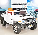 ride on toys hummer - Hummer HX Kids Ride On Truck/Car 12V Powered Wheels with RC Remote Control - White