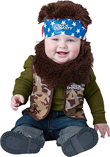 [GTH Boy's Duck D Baby Willie Tod Kids Child Fancy Dress Party Halloween Costume, 6-12 Months] (Comical Halloween Costumes)