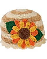 San Diego Hat Co. Infant Toddler Sunflower Knit Hat 6-12 Months