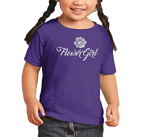 Toddler Infant Silver Flower Girl
