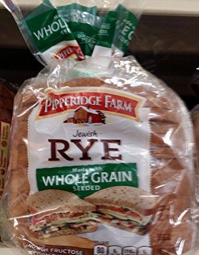- Pepperidge Farm Jewish Rye Bread, Whole Grain Seeded 16Oz (Pack of 2)