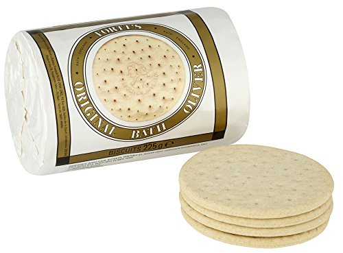 Price comparison product image Fortt's Original Bath Oliver Biscuits 225g (Pack of 2) by Fortts