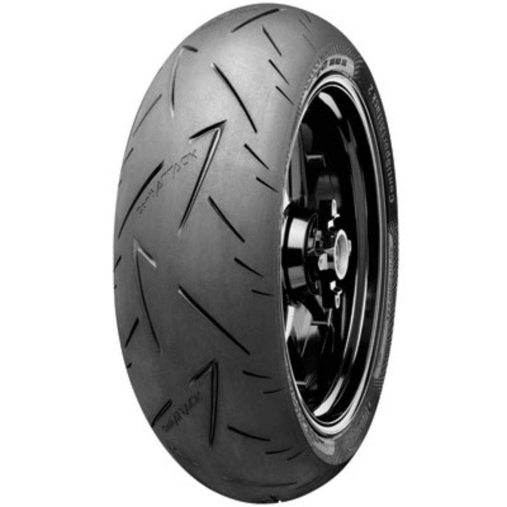 Continental ContiRoad Attack 2 Hypersport Touring Radial Rear Motorcycle Tire for Suzuki Katana GSX600F 1998-2006 150//70ZR-17 69W
