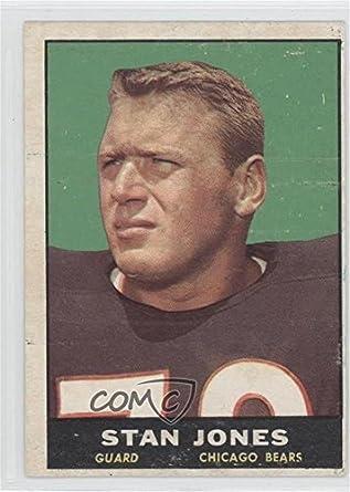 Amazon.com: Stan Jones (Football Card) 1961 Topps - [Base ...